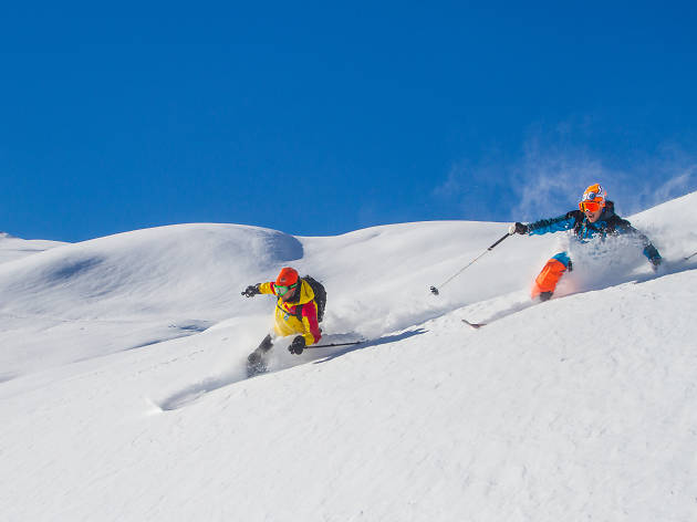 The freeride experience