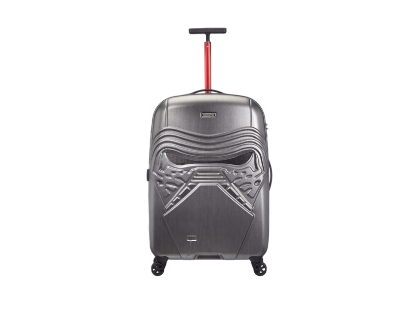 Star Wars style: Kylo Ren four-wheel suitcase by American Tourister