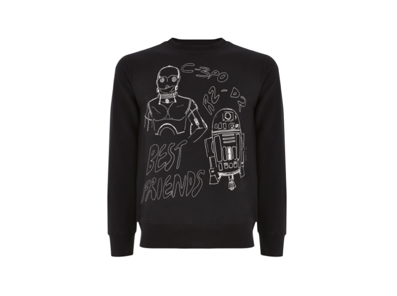 Star Wars style: sweater by Claire Barrow
