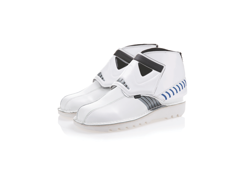 Star Wars style: stormtrooper boots by Kickers
