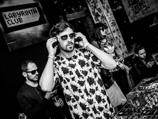 Photo of Patrick Topping DJing