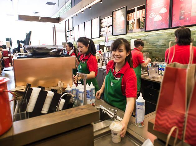 Starbucks Christmas Open House