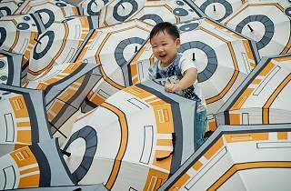Happy Force Friday! It's 'raining' BB-8 at Kallang Wave Mall