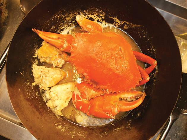 Crab walk of progress in the kitchen