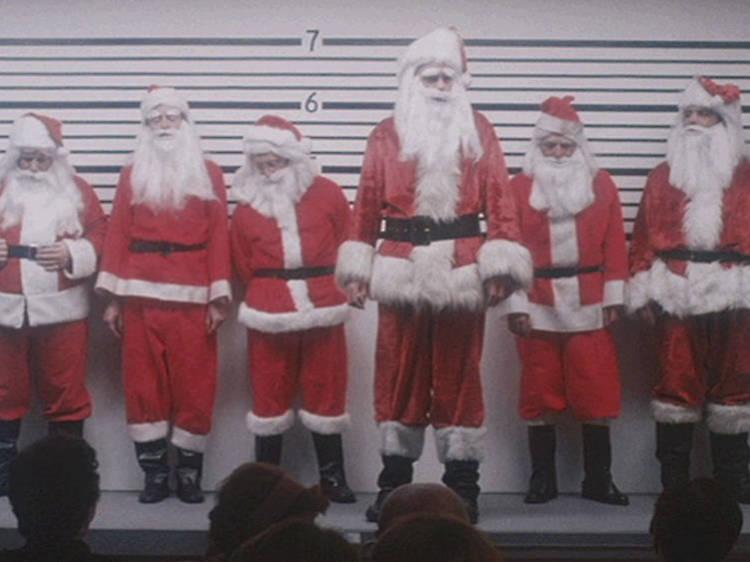 サンタが殺しにやってくる