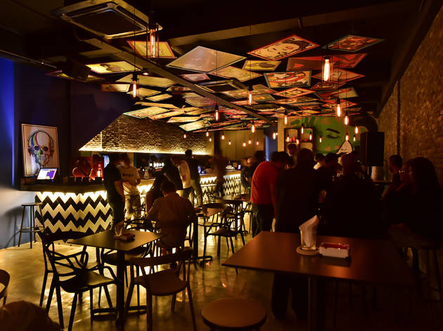 New Year's Eve party at Artebar
