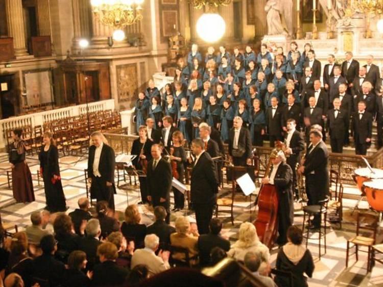 Concert du nouvel an à La Madeleine