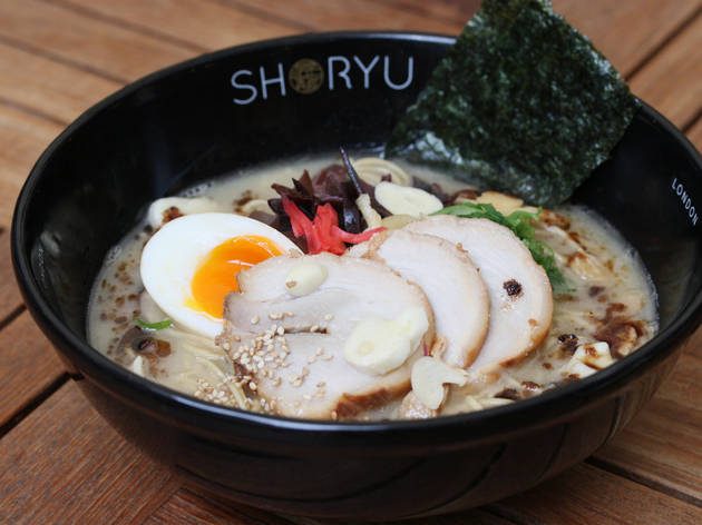 100 best dishes in London - Shoryu Ramen - dracula tonkotsu