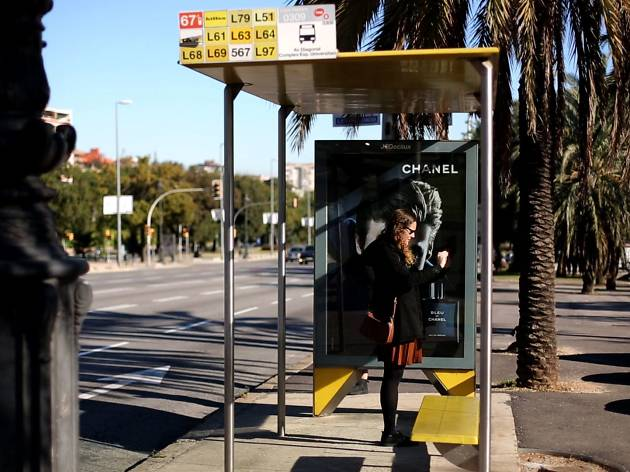Parada autobús AMB
