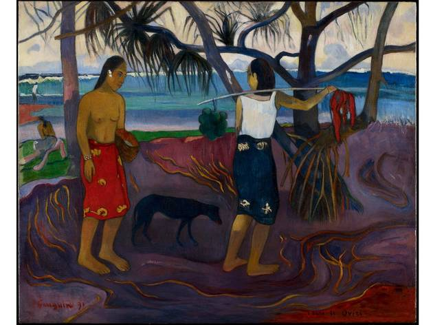 (Paul Gauguin: 'I Raro Te Oviri (Under the Pandanus)', 1891. © The Minneapolis Institute of Art)