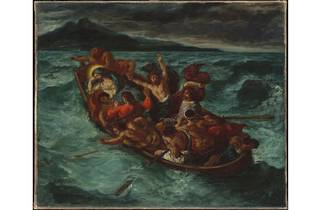 (Eugène Delacroix: 'Christ on the Sea of Galilee', 1853. © The Metropolitan Museum of Art, New York)