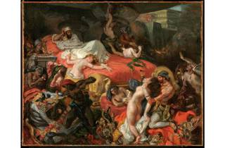 (Eugène Delacroix: 'The Death of Sardanapalus (reduced replica)', 1846. © Philadelphia Museum of Art, Pennsylvania)