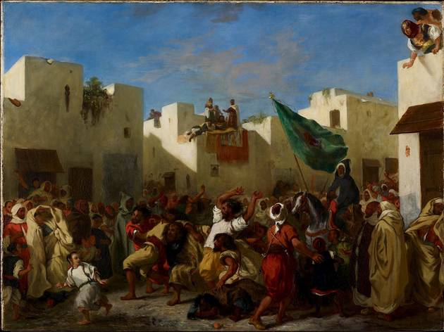 (Eugène Delacroix: 'Convulsionists of Tangier', 1837-8. © The Minneapolis Institute of Art)