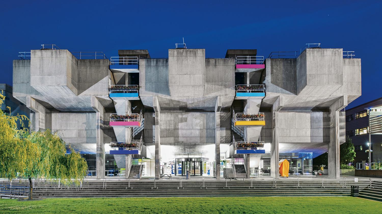 Lecture theatres at Brunel University, Uxbridge
