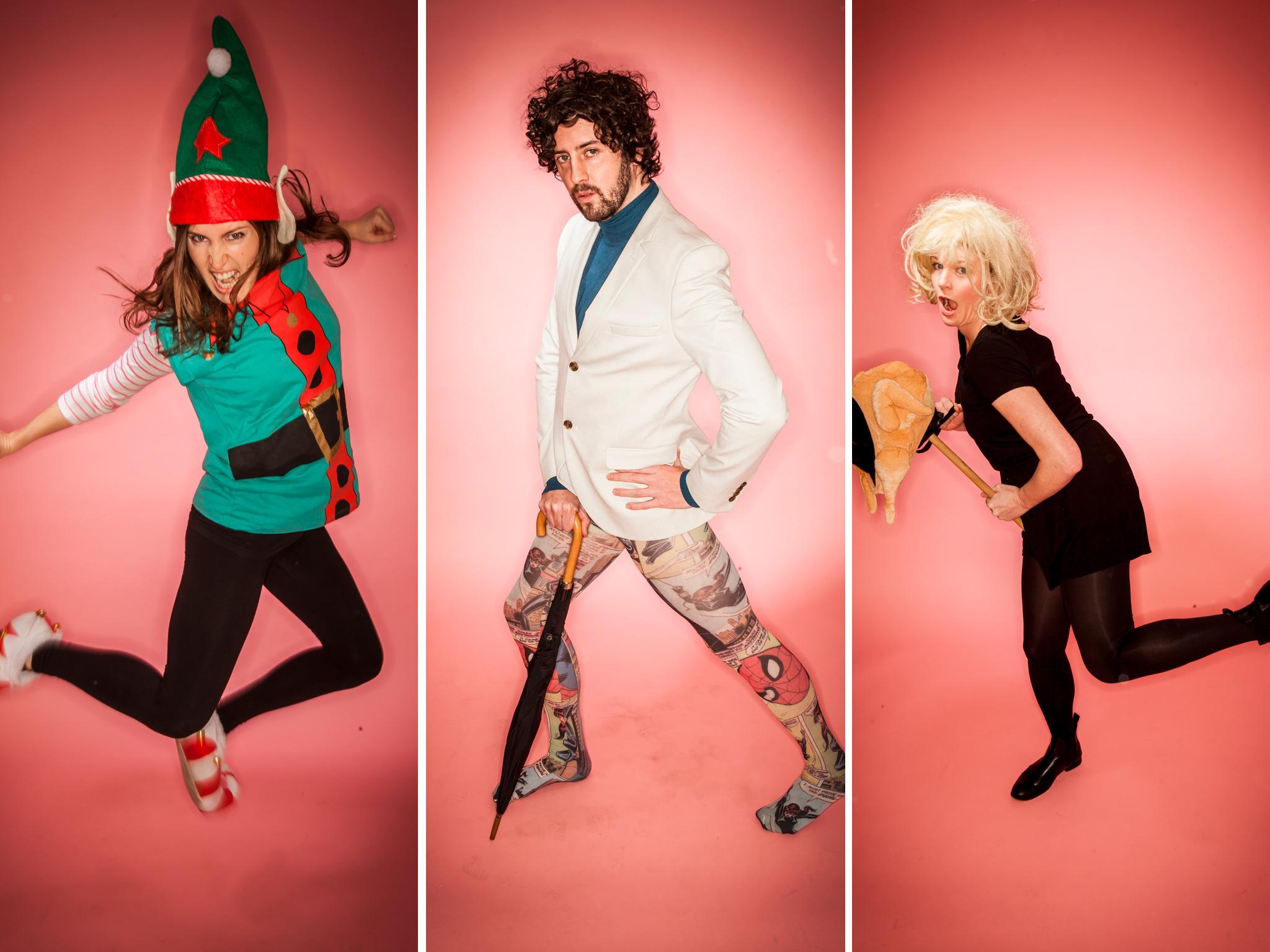 Weirdos Comedy: Katia Kvinge, Matthew Highton and Beth Vyse © Rob Greig