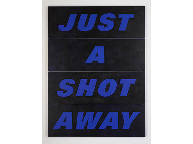 Deborah Kass, Just a Shot Away, 2015