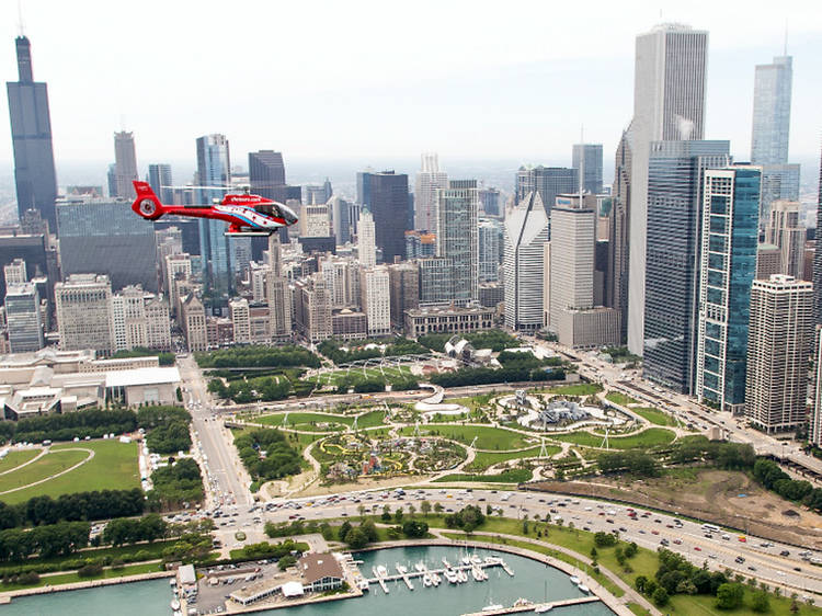 The best Chicago helicopter tours