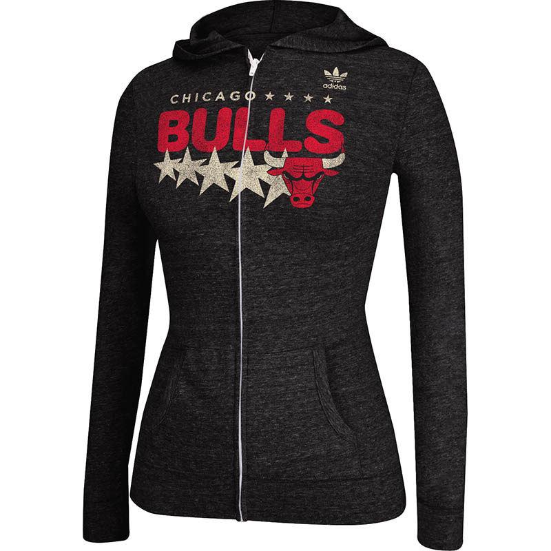 Chicago bulls college jacke rot