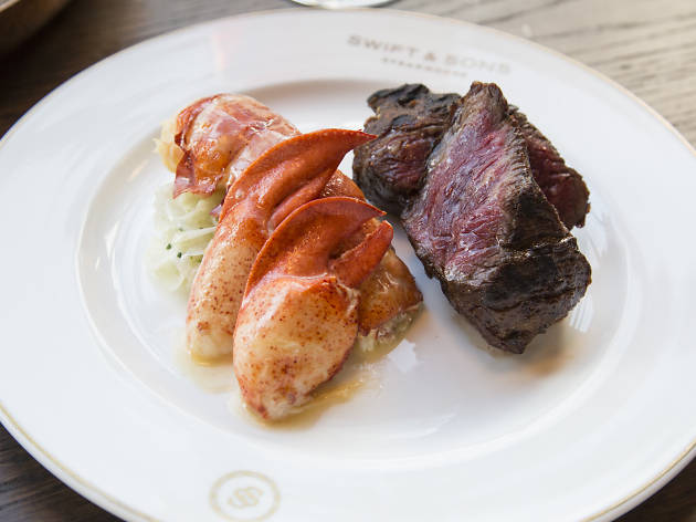 Surf & Turf at Swift & Sons