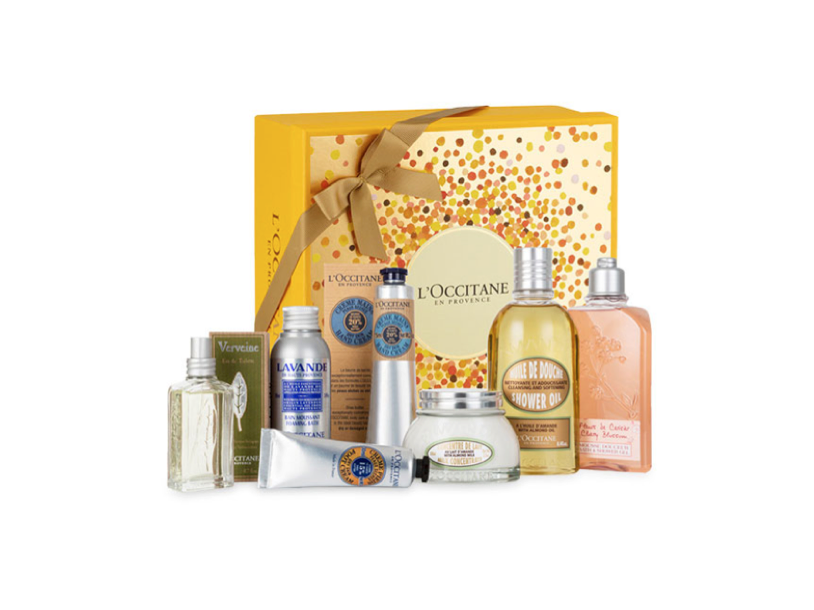 Charitable christmas gifts: best of L'Occitane gift set