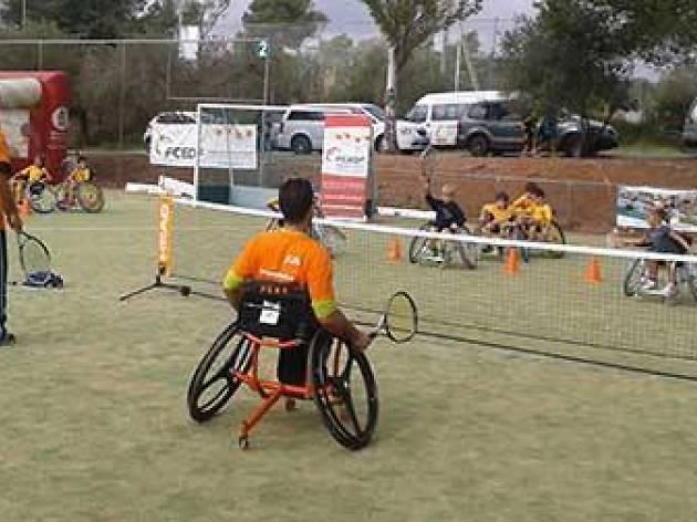 Tenis cadira de rodes