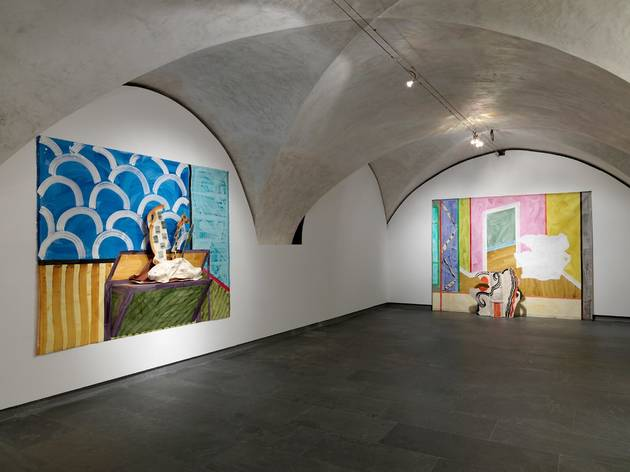 (Installation view: Betty Woodman at Museo Marino Marini, Florence, Italy September 20 – November 28, 2015)