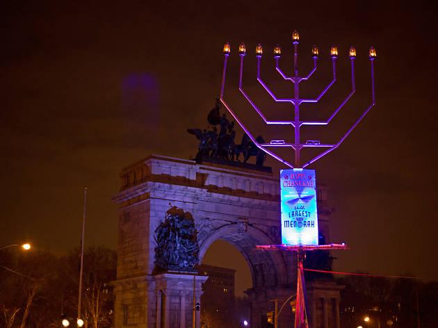World's Largest Menorah Lighting