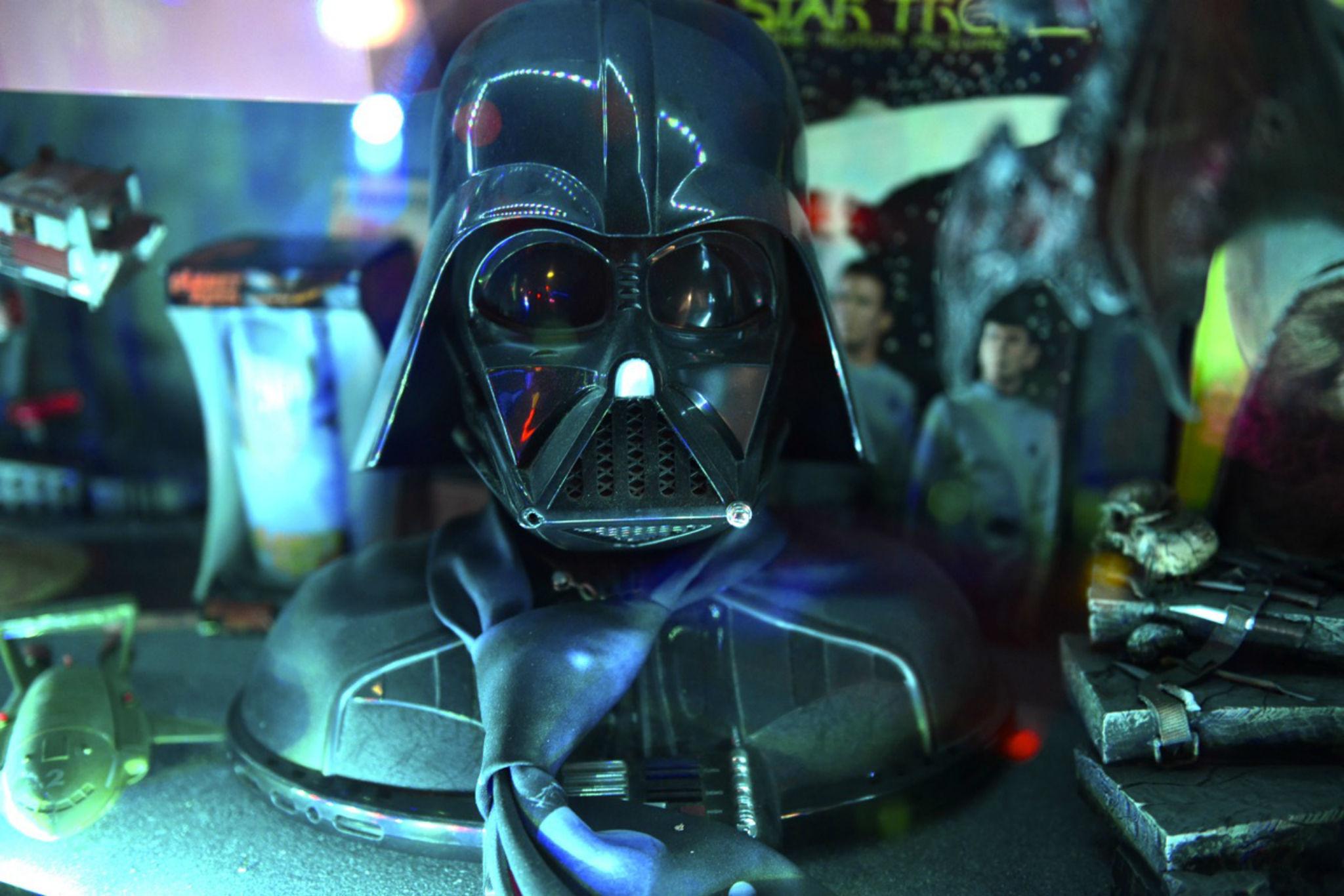 Fab cafe Darth Vader