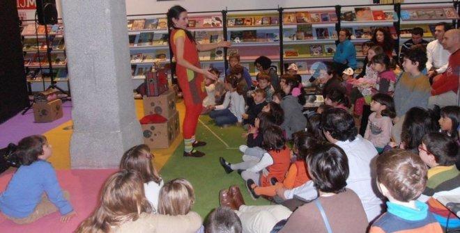 Lectura y teatro en Conde Duque