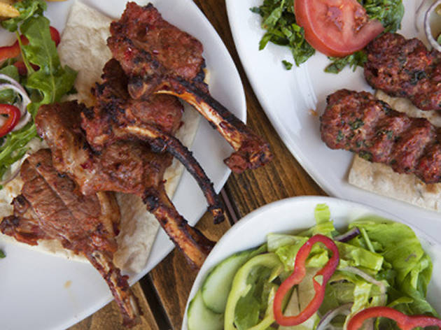 100 best dishes in London - Antepliler - kebabs