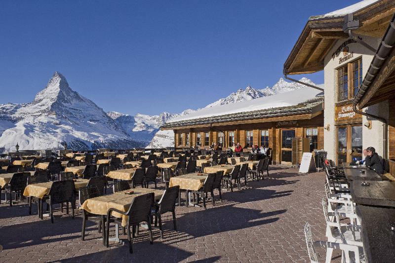 Buffet Bar Sunnegga • Zermatt