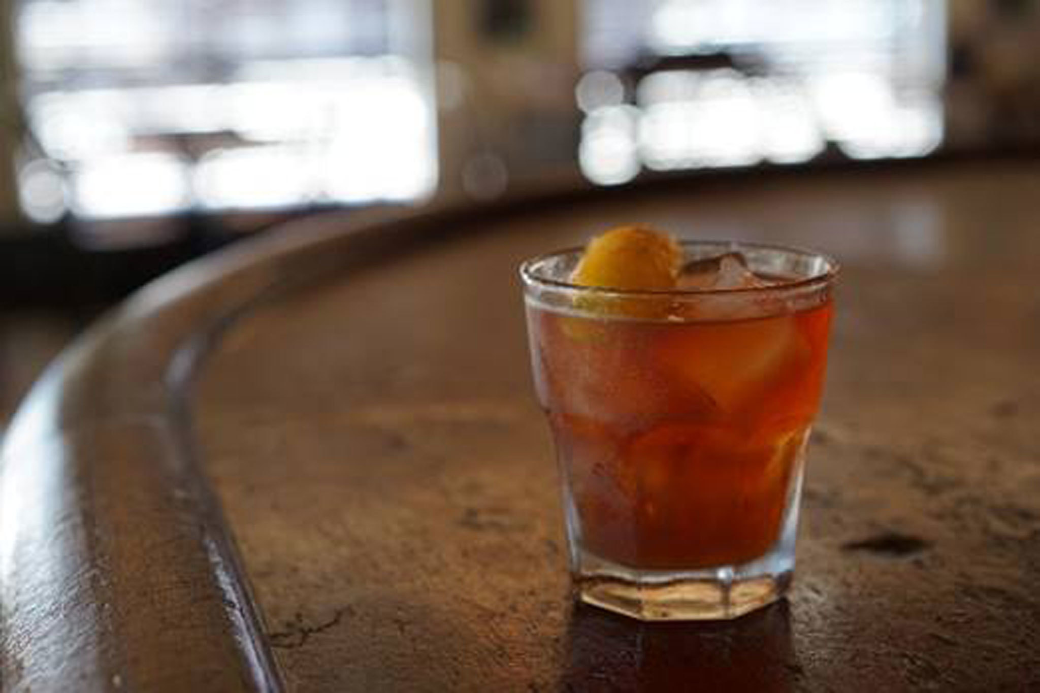 Old-Fashioned at Oldfields Liquor Room