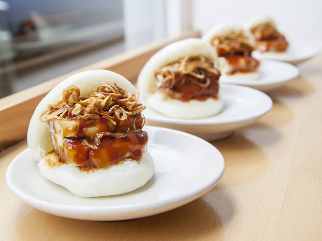 top 10 dishes in London - Bao - confit pork bao