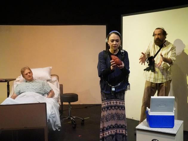 Angina Pectoris at ShPIeL—Performing Identity