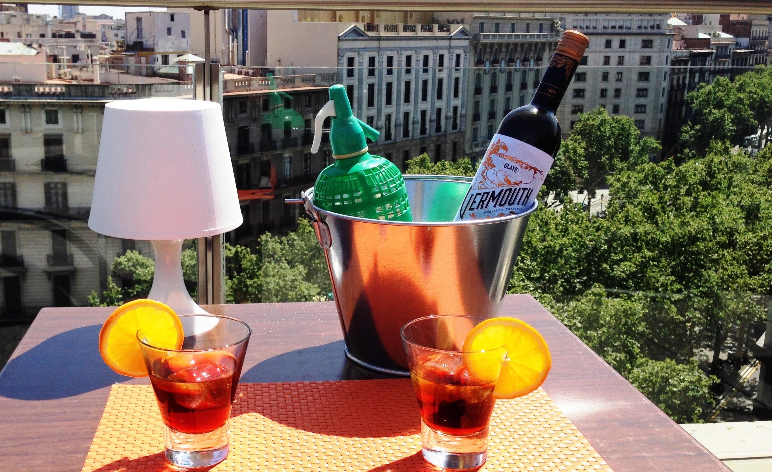 Vermuts en los hoteles de Barcelona