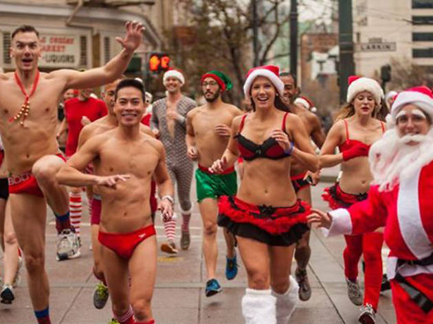 The Santa Skivvies Run