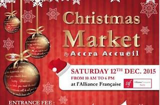 Christmas Market at Alliance, Airport, Accra, Ghana