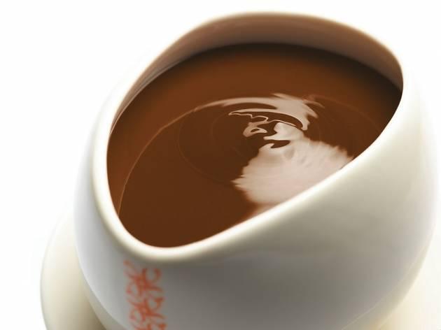冬はチョコレートに限る。
