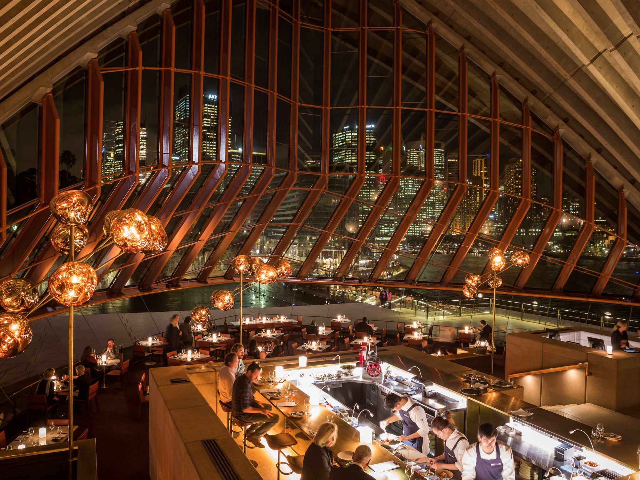 Bennelong Restaurants In Sydney Sydney