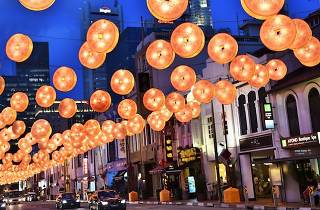 Chinatown Chinese New Year light up