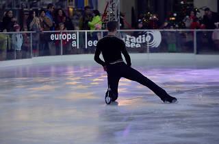 Exhibition ice skating