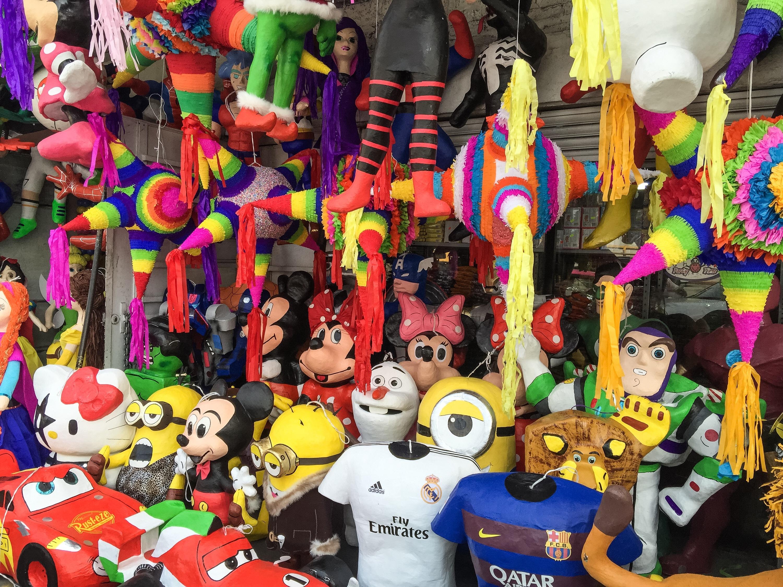 Las mejores piñatas en la CDMX