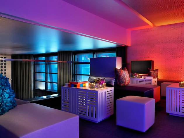 W Hotel, one of the best hotels in San Francisco