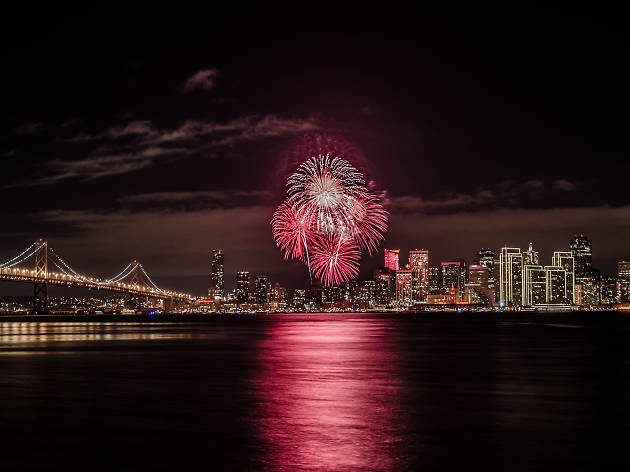 The Fume Blanc Commodore Vessel, one of the best New Year's parties in San Francisco