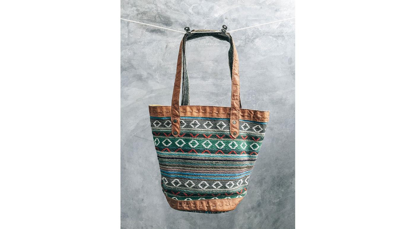 For mum: Pokhara tote bag