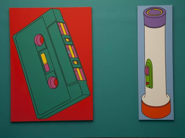 (Michael Craig-Martin: 'Transience' exhibition view. © the artist, photo: Jerry Hardman-Jones)