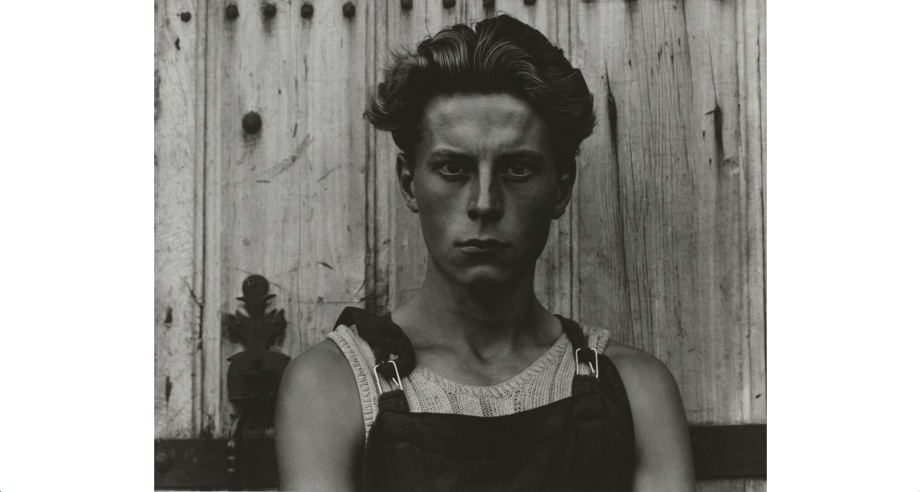 (Paul Strand: Young Boy, Gondeville, Charente, France, 1951. © Paul Strand Archive, Aperture Foundation)