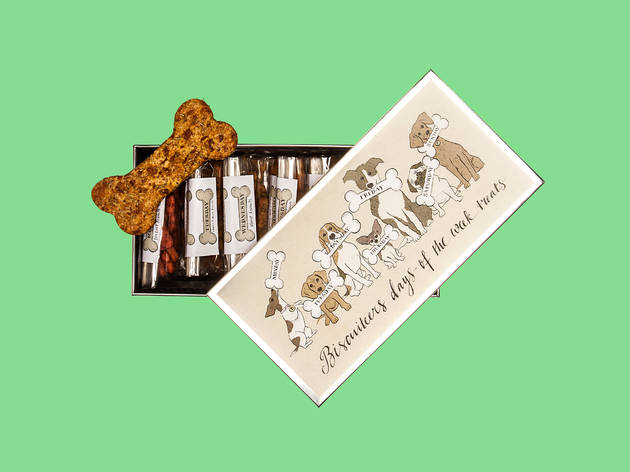 Dog biscuits by Biscuiteers