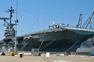 New Year's Eve aboard the U.S.S. Hornet, one of the best New Year's events in San Francisco