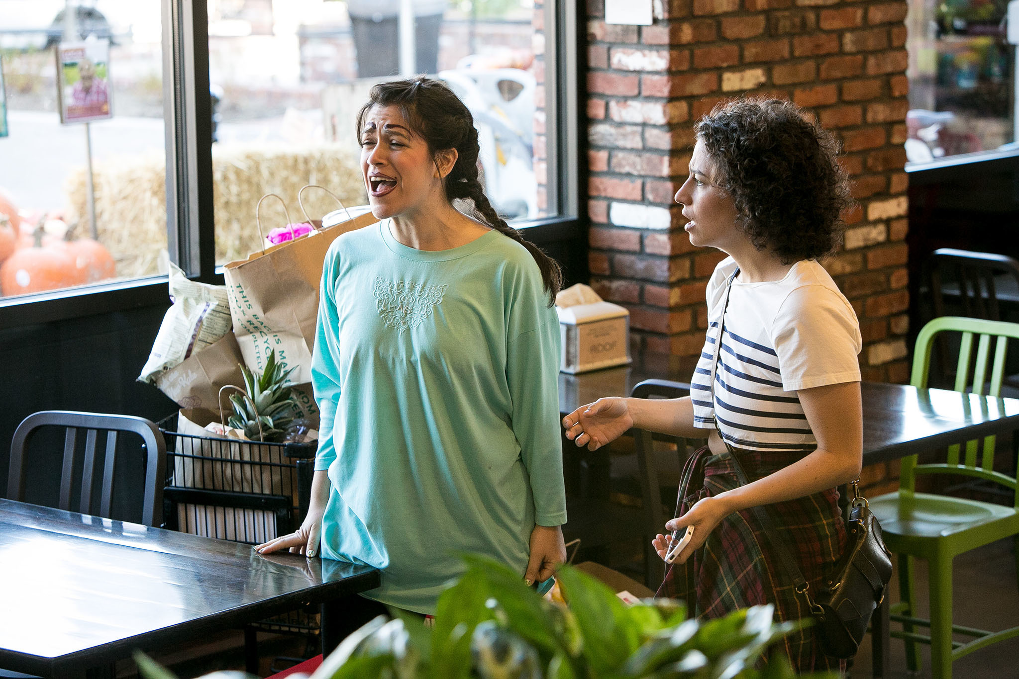BROAD CITY PRODUCTION PHOTOS